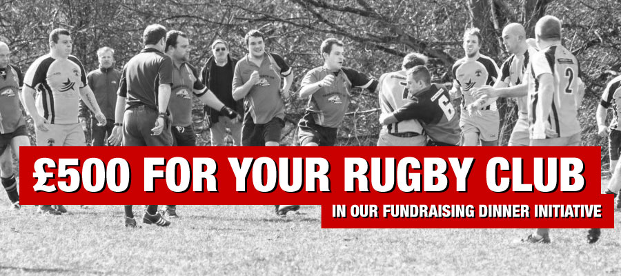 Earn £500 For Your Rugby Club